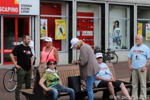 Pegida in Hengelo nadat zij Enschede moesten verlaten